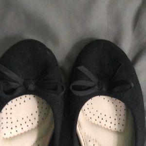 SO Shoes - SO black flats women's